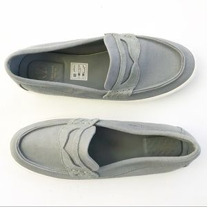 Cole Haan Boys Shoes Slip-on Loafers Grey Size 6